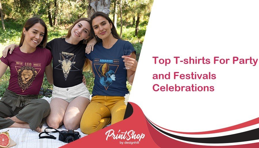 Top T-shirts For Party and Festivals Celebrations