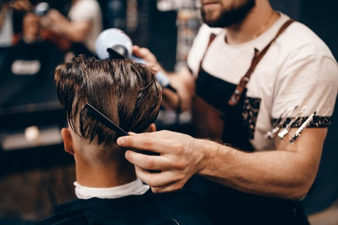 men hairdressers